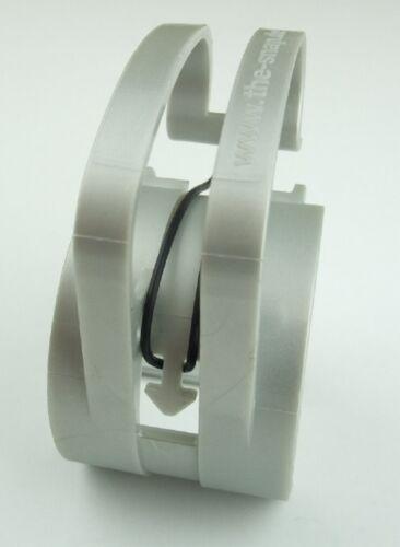 10x SNAP Gummi O-Ring black für Traversen Kabel Klammern Halter Schellen Klemme