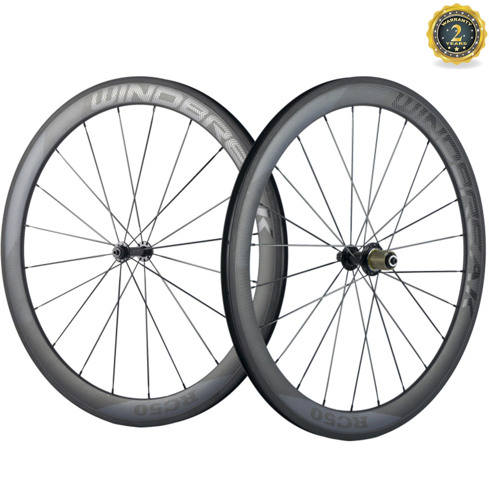 WINDBREAK Transparent Decal 50MM Clincher Carbon Wheelset Road Bike Cycle Wheels