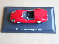 Leo Models CAR DIE CAST 1:43 NEW FIAT ABARTH OT 2000 SPORT SPIDER 1966 [MV-14 ]