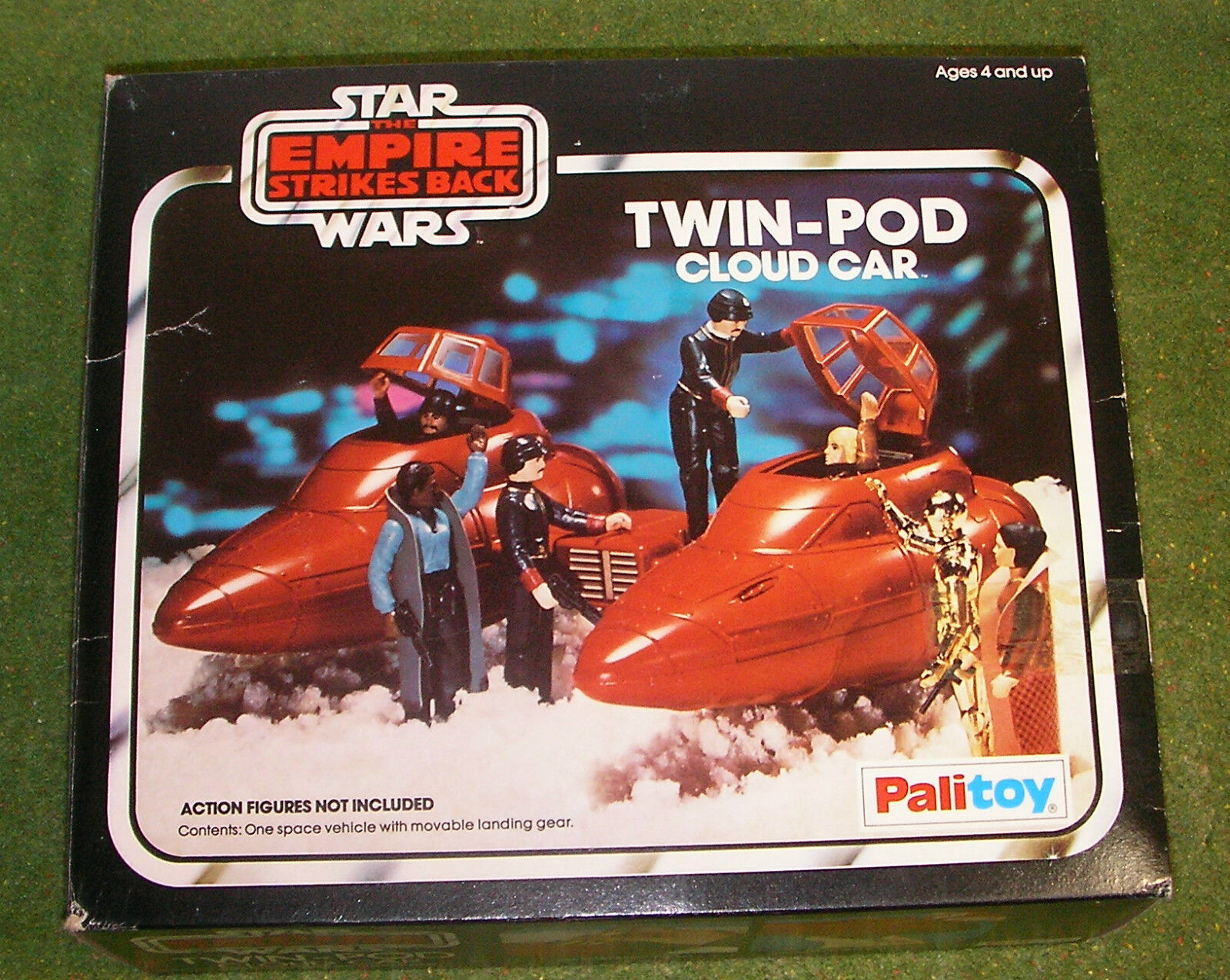 VINTAGE STAR WARS PALITOY L'impero colpisce ancora Twin-pod Cloud Car BOXED
