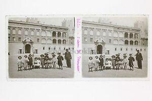Monaco-Placca-Lente-Stereo-Vintage-Positivo-6x13cm