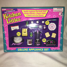 Tyco Kitchen Littles Deluxe Appliance Set NEW 1995 Vintage
