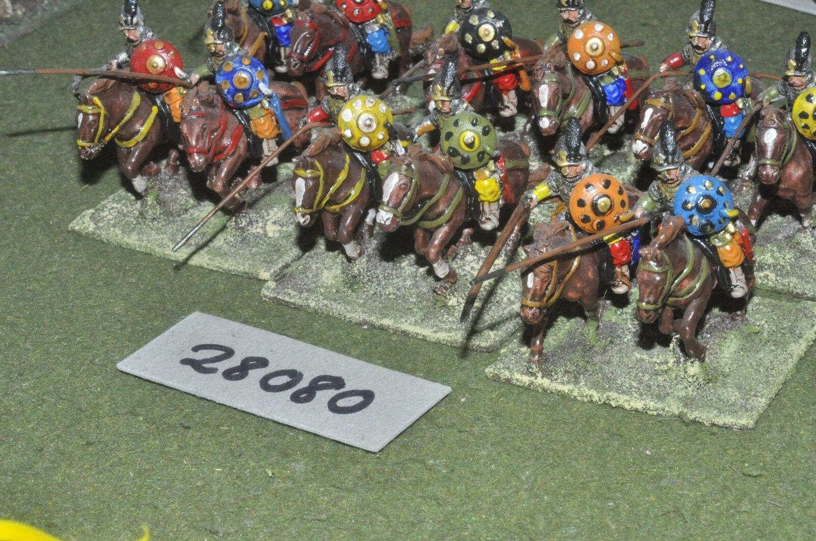 25mm renaissance   turkish - sipahis 12 figures - cav (28080)