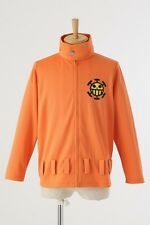 NEW One Piece Heart Pirates Bepo Costume Wear Jersey Track Jacket Cosplay Lady L