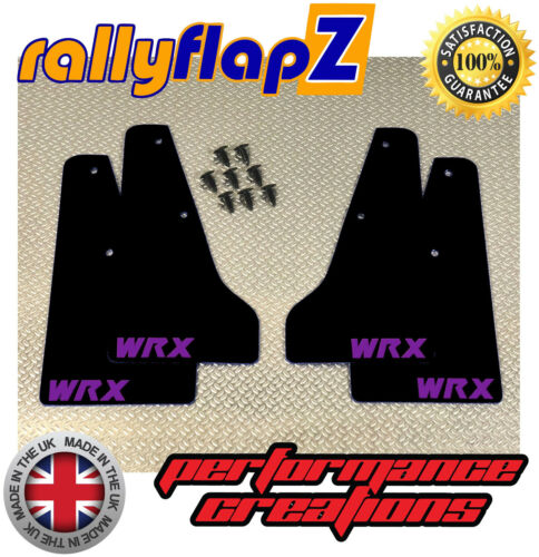 93-01 Negro 4mm PVC-Púrpura WRX Miniflapz Splash guardias SUBARU IMPREZA Clásico