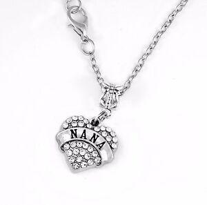 Nana Necklace Nana Gift Nana Chain Grandma Present Grandmother