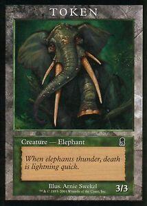Elephant-Token-EX-Player-Rewards-Promos-Magic-MTG