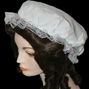 Colonial Mob Cap one size historical style maid hat costume TV prop reenactment