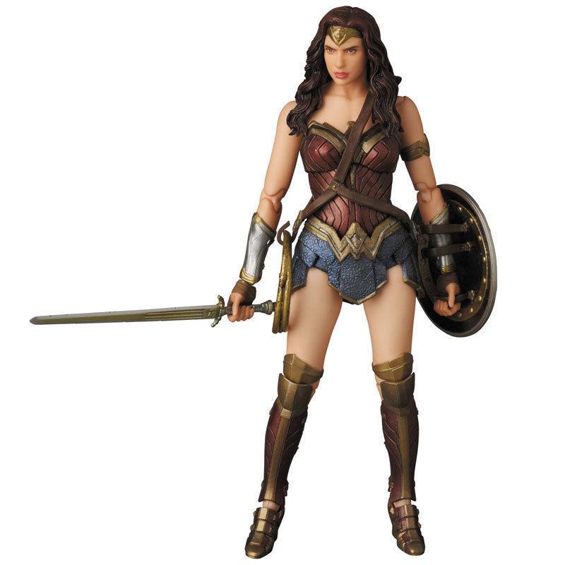 (P) MAFEX BATMAN VS SUPERMAN DAWN OF JUSTICE 024 WONDER WOMAN FIGURE MEDICOM TOY