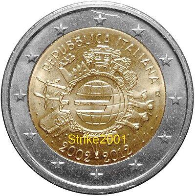 EURO COMMEMORATIVO ITALIA 2012 10° Anniversario