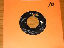 """ROCK + ROLL 45 RPM - GEORGE HAMILTON IV - ABC-PARAMOUNT 9765 - """"A ROSE AND A..."""""""