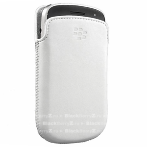 Genuine-Official-BlackBerry-9900-White-Leather-Pocket-Pouch-Case-HDW-38844-002