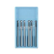 Dental Surgical Tungsten Carbide Bur Round 25mm Fgxl 6 For High Speed Handpiece