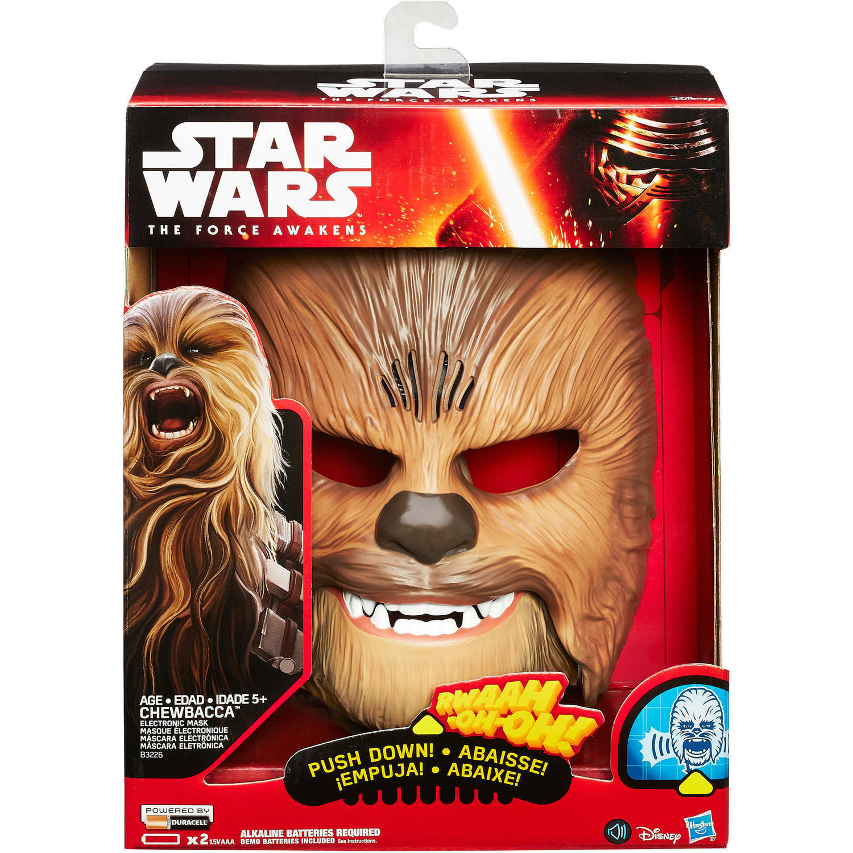 Stjärnornas krig Kraften vaknar Chewbacca Electronic Mask Rogue One R1