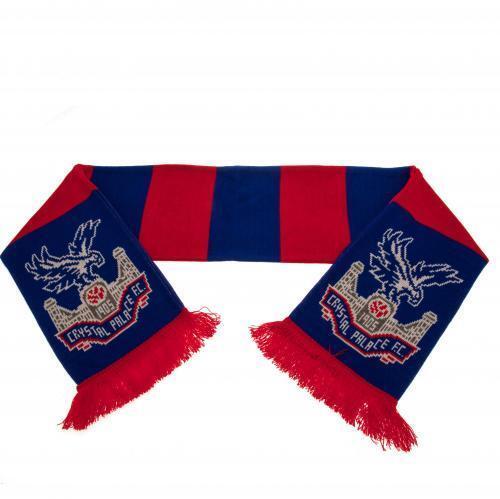 Crystal Palace Sciarpa BARRE Caldo Morbido Fan Regalo Divertente Nuovo prodotto con licenza ufficiale