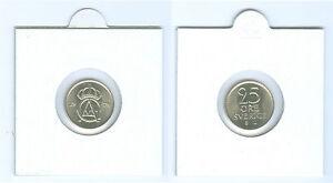 Suede-25-oere-estampe-FRAIS-DE-kms-Choisissez-deux-1972-et-1973