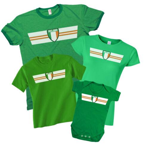 IRELAND Rugby T-Shirt *Choice MENS LADIES KIDS BABY GROW* Irish Football Top