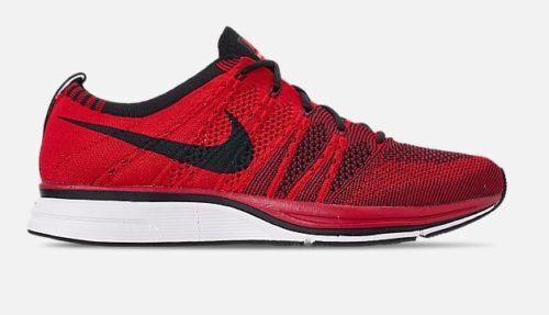 Nike Air Flyknit Trainer Size 10 Running shoes University Red AH8396-601 NEW