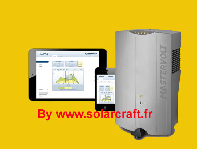 Convertidor Ondulador Inventar Inyección Mastervolt Soladin 1500 WEB Solar PV