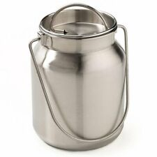 Functional And Decorative Stainless Steel Milk Can 8 34 H 1 Gallon