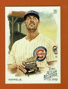 2019-Topps-Allen-amp-Ginter-Cole-Hamels-233-Chicago-Cubs