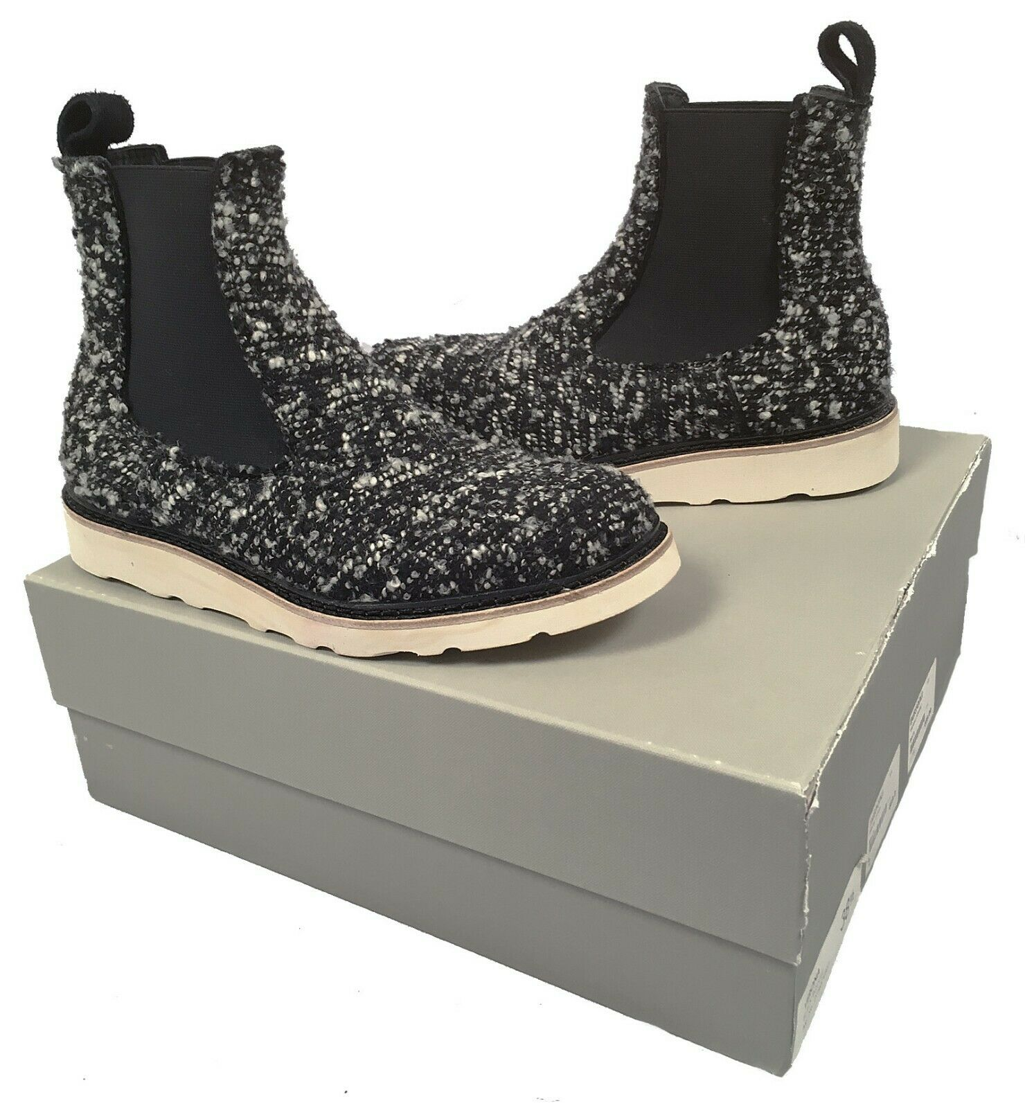 New  469 469 469 Diemme Verona Womens Boots   Spotted Pony Hair or Black & White Boucle 736c25
