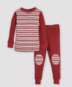 Details about nwt boys unisex size 0-3M burts bees baby 100% organic cotton 2  piece pajama set 793c702fb