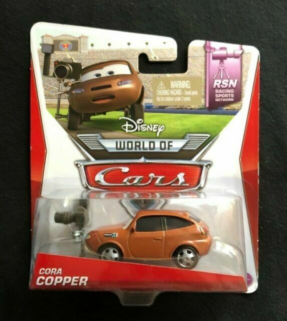 Disney Cars Cora Copper Brand new