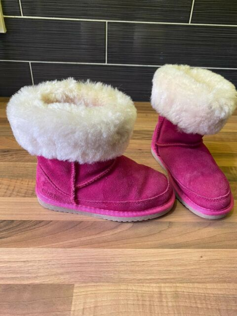 Cloud Nine Sheepskin Pink Girls Boots