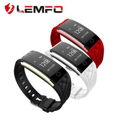 Lemfo S2 IP67 Impermeable Bluetooth Sporte podómetro Smart Band Para Android IOS