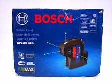 Brand New Bosch Gpl100 50g 5 Point Laser Alignment With Self Leveling