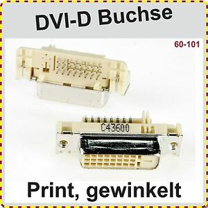 DVI-D-Buchse-Print-gewinkelt