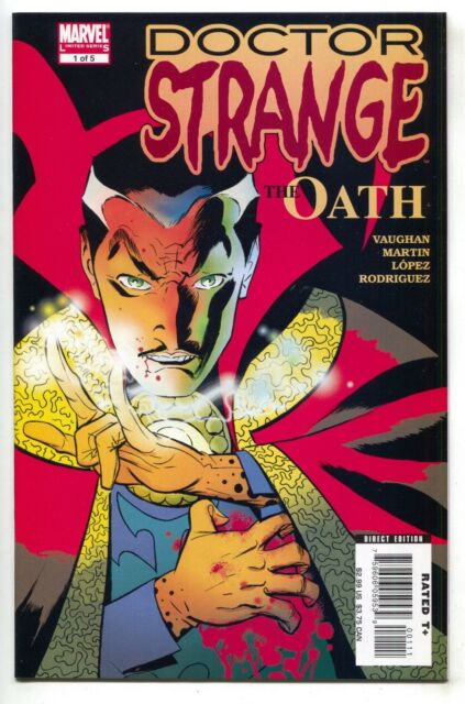 Doctor Strange The Oath 1 A Marvel 2006 NM 1st Dr. Nicodemus West Movie 1st