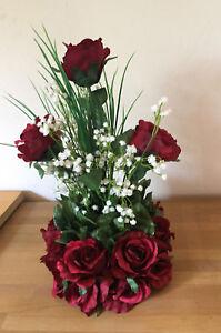Tischgesteck Tischdekoration Blumengesteck Hochzeit Taufe Rosen Ebay