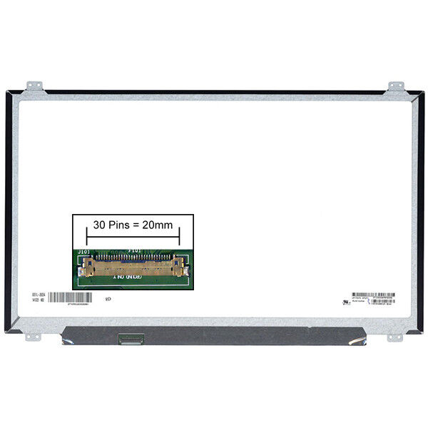Dalle led lcd screen for clevo pa70es