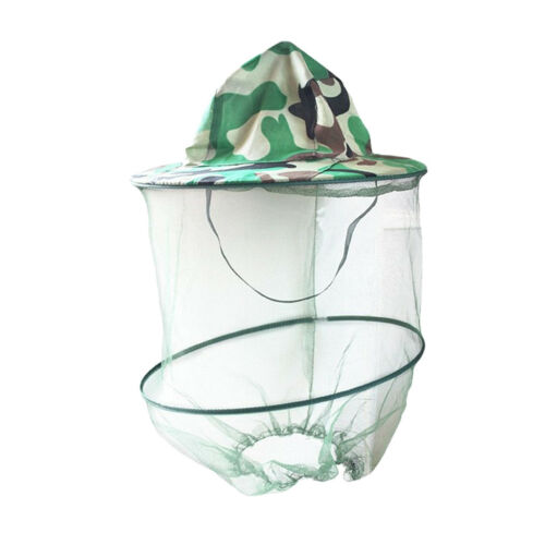 Beekeeping Anti-mosquito Bee Bug Insect Fly Mask Cap Hat with Head Net Mesh