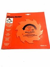 Black & Decker 156mm Tct Circular Saw Blade 156 X 12,7 X 10 T a7692