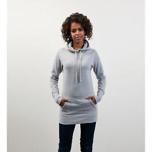 Détails sur Awdis girlie longline sweat à capuche pour femme femme nouveau long longueur hoody à capuche pull afficher le titre d'origine