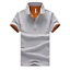 Cotton-Men-039-s-Fashion-Slim-Short-Sleeve-Shirts-T-shirt-Casual-Tops-Blouse-Top thumbnail 12