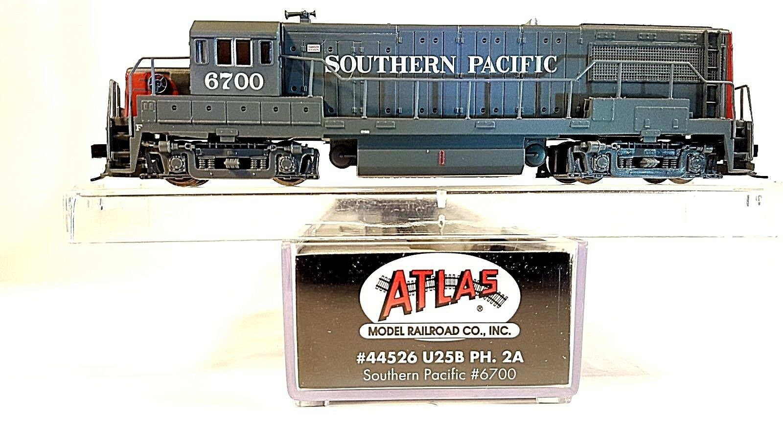 N Atlas 44526 U25B ph. 2 A Southern Pacific (Dcc Ready) (probados)