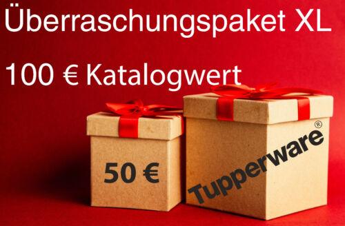 Tupperware XL Ü-Paket//Kiste 100 € Warenwert für nur 50 €