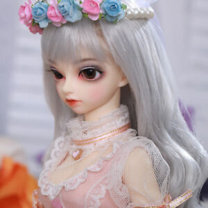 1-4-BJD-Doll-SD-Doll-FL-Ryeon-Free-Face-Make-UP-Free-Eyes