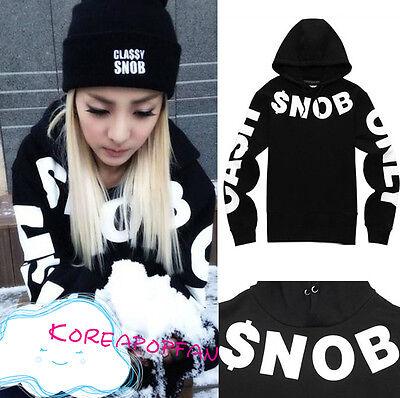 2NE1 unisex black hoodie CL dara Minzy Bom Park kpop New