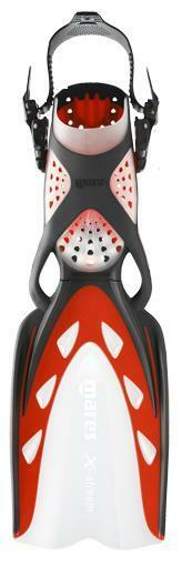 Mares X-Stream Open Heel Scuba Diving Dive Fins - Red - All Sizes