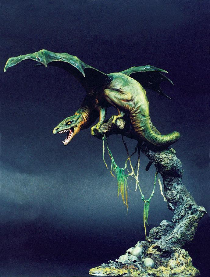 [SOL Model] c164, 1 16 Dragon, resin figure