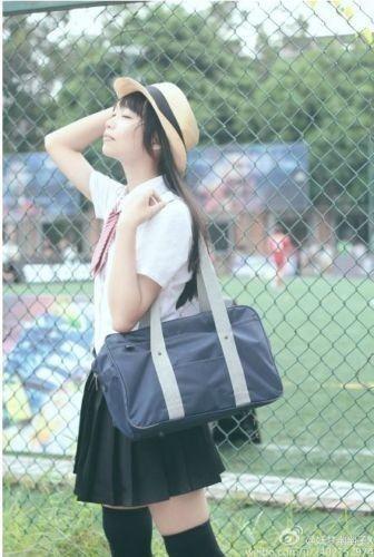 Cosplay Lolita Uniform Japanese School Bag Kuroko no Basuke K-ON Handbag Japan