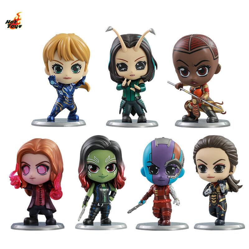 Hot Toys Avengers Endgame Rescue Okoye Gamora Scarlet Witch Cosbaby Collectible on eBay thumbnail
