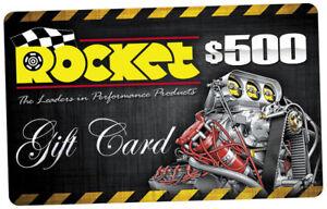 $500 Rocket Gift Card