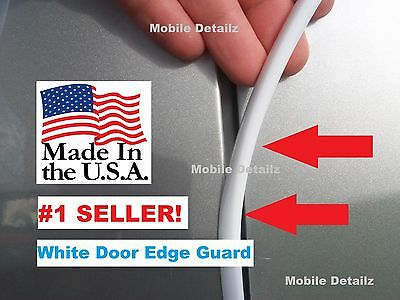 Trim molding (4 Door Kit) car auto WHITE DOOR EDGE GUARDS (fits) FORD