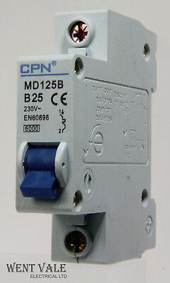 Brand New Newlec B25 25A MCB